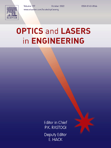 Optics and Lasers in Engineering